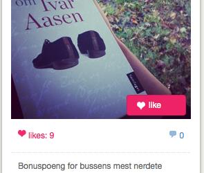 Formidle litteratur på Instagram