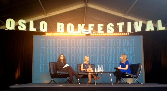 Bokmerker på bokfestival. Del II: Fornøyd fersking