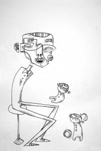 Tegnet av Henrik Koppen