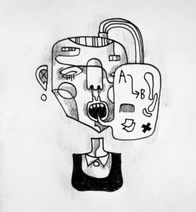 Tegner av Henrik Koppen