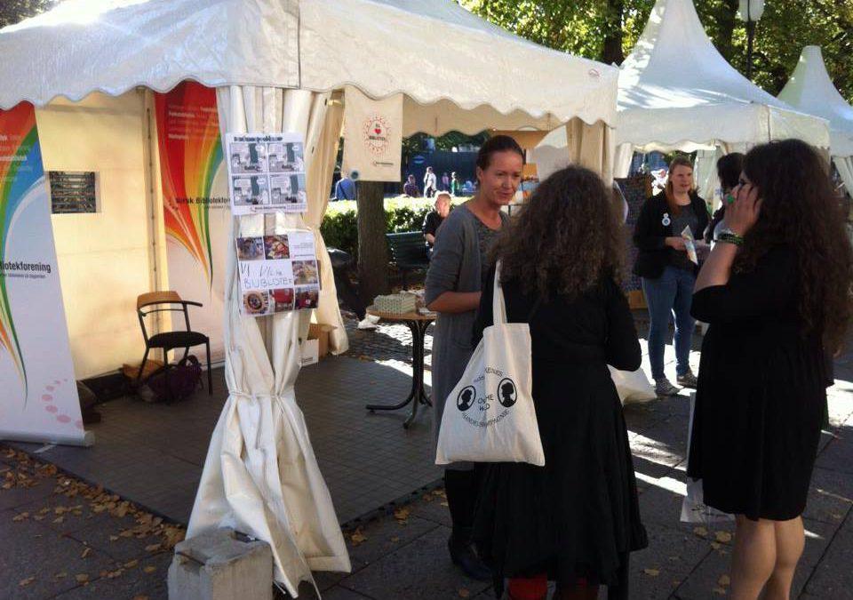 Oslo bokfestival 2014 – sånn kjapt